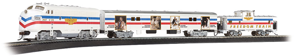 Norman Rockwell Freedom Train (HO Scale)