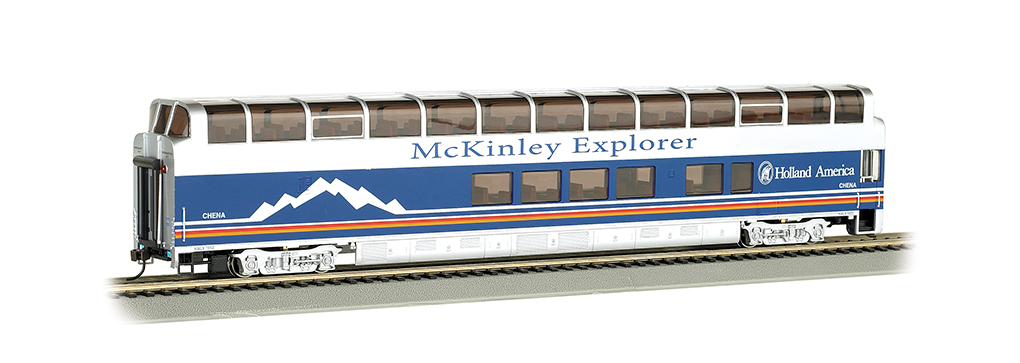 McKinley Explorer Chena#1052 -89' Colorado Railcar Full-Dome(HO)