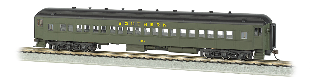 Bachmann 13706 HO 72' Heavyweight Coach Southern Railway #1050