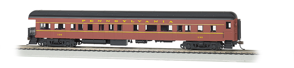 Pennsylvania #130 - 72' Heavyweight Observation (HO Scale)