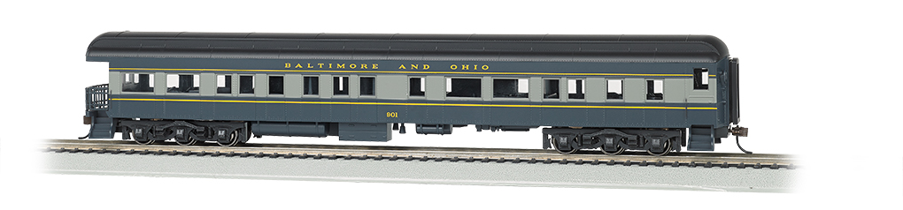 Baltimore & Ohio® #130 - 72' Heavyweight Observation (HO Scale)