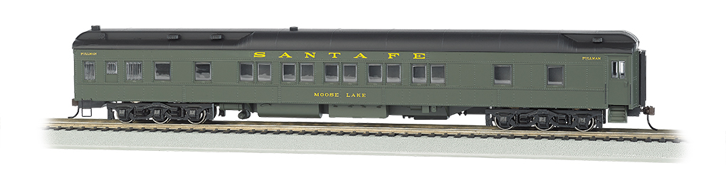 Santa Fe - Heavyweight 80' Pullman (HO Scale)