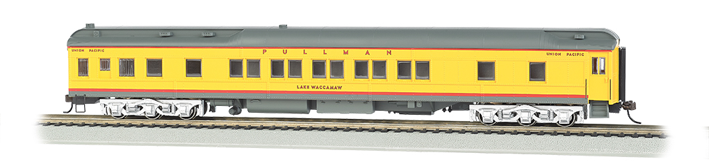 Bachmann 13905 HO 80' Heavyweight Pullman Sleeper w/LED Lighting Union Pacific