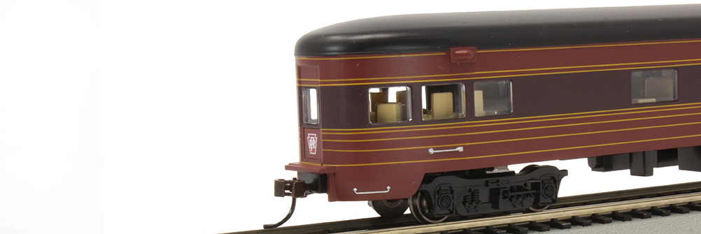 PRR - Fleet of Modernism Smooth-Side Obs Car w/ Lighted Intr