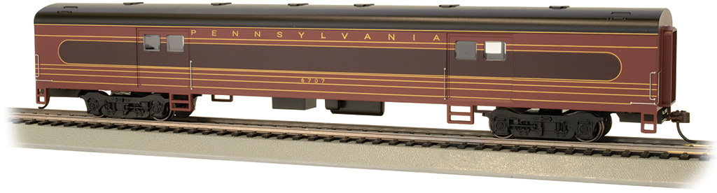 PRR #6707 - Fleet of Modernism - 72' Smooth-Side Baggage Car