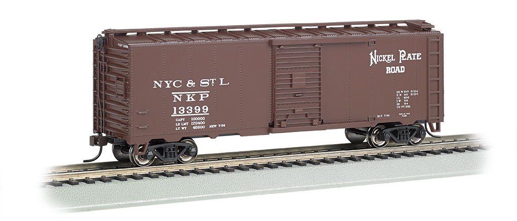 BAC15004 Bachmann Industries HO 40' Steam Era Box NKP 160-15004