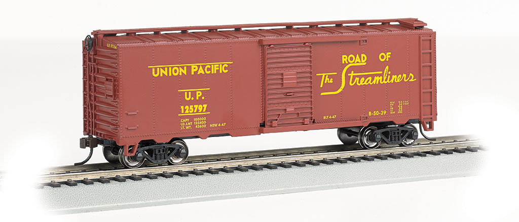Union Pacific® #125797 - Steam Era 40' Box Car (HO Scale)