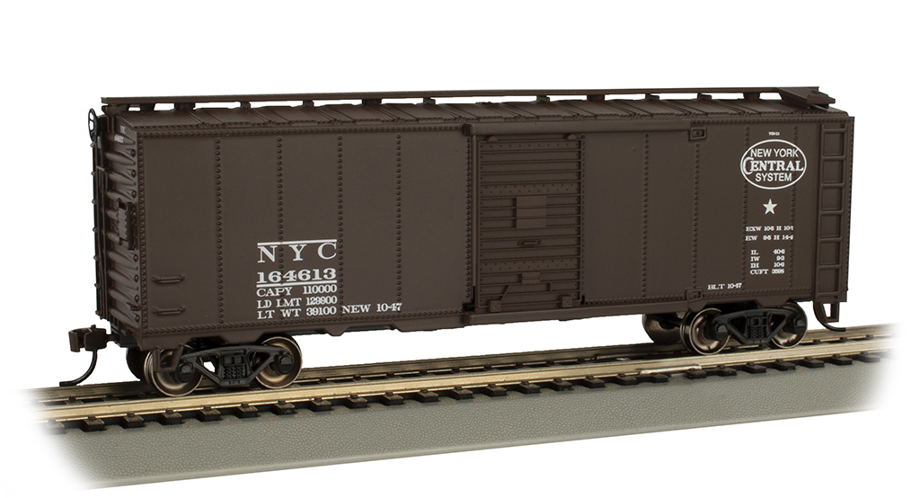 New York Central - Steam Era 40' Box Car (HO Scale)