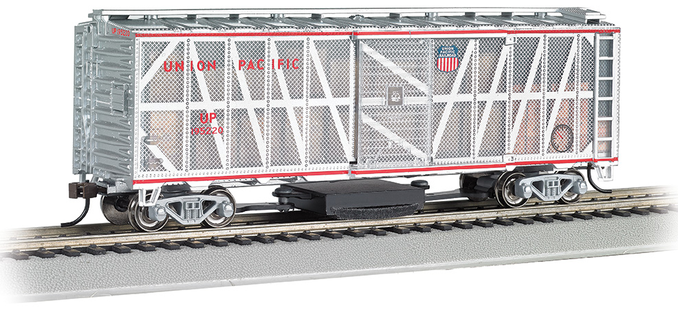 Union Pacific® (Damage Control) - Track-Cleaning 40' Box Car
