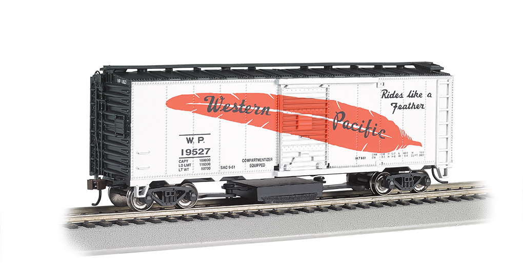 Western Pacific (Feather Car) - Track Cleaning Car