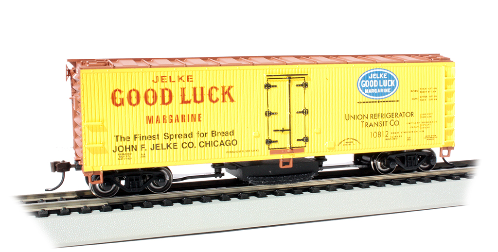 Jelke Good Luck Margarine - Track-Cleaning 40' Wood-Side Reefer