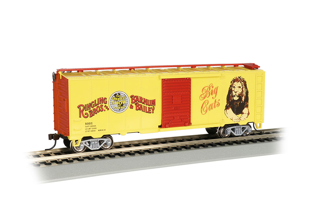 Ringling Bros. & Barnum & Bailey™ - Lion Box Car (HO)
