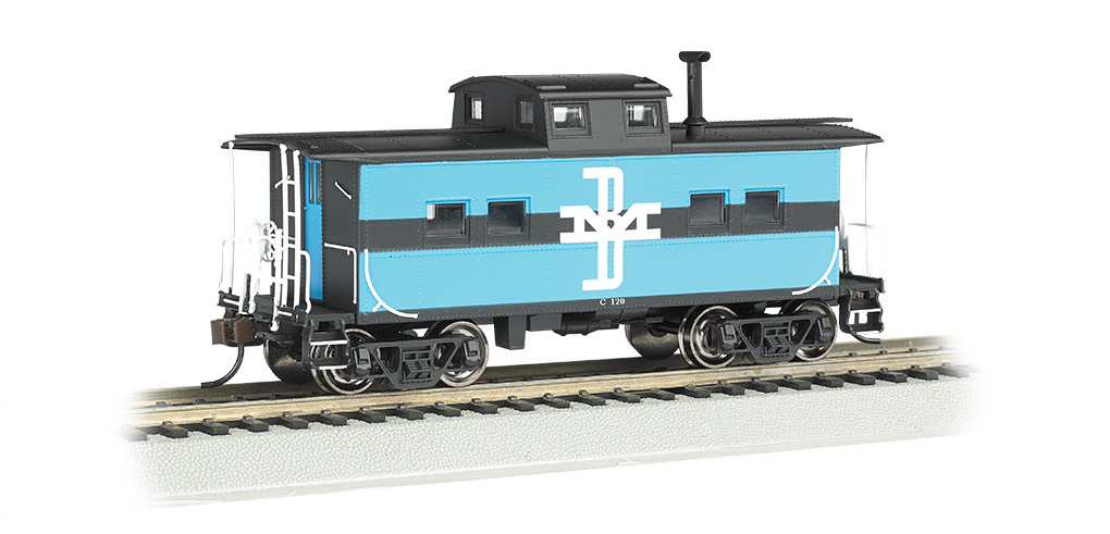 Boston & Maine #C-120 - NE Steel Caboose (HO Scale)