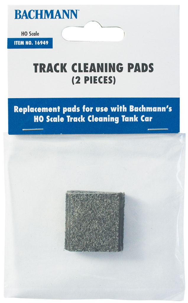 Track Cleaning Replacement Pads (2/Package) (HO Scale)