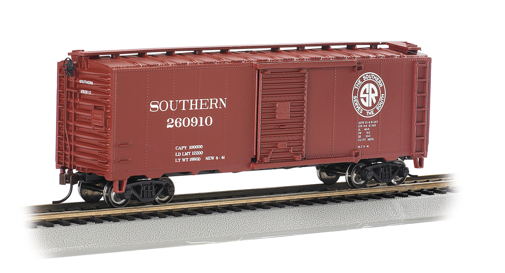 Southern (Look Ahead Look South) - 40' Box Car (HO Scale)