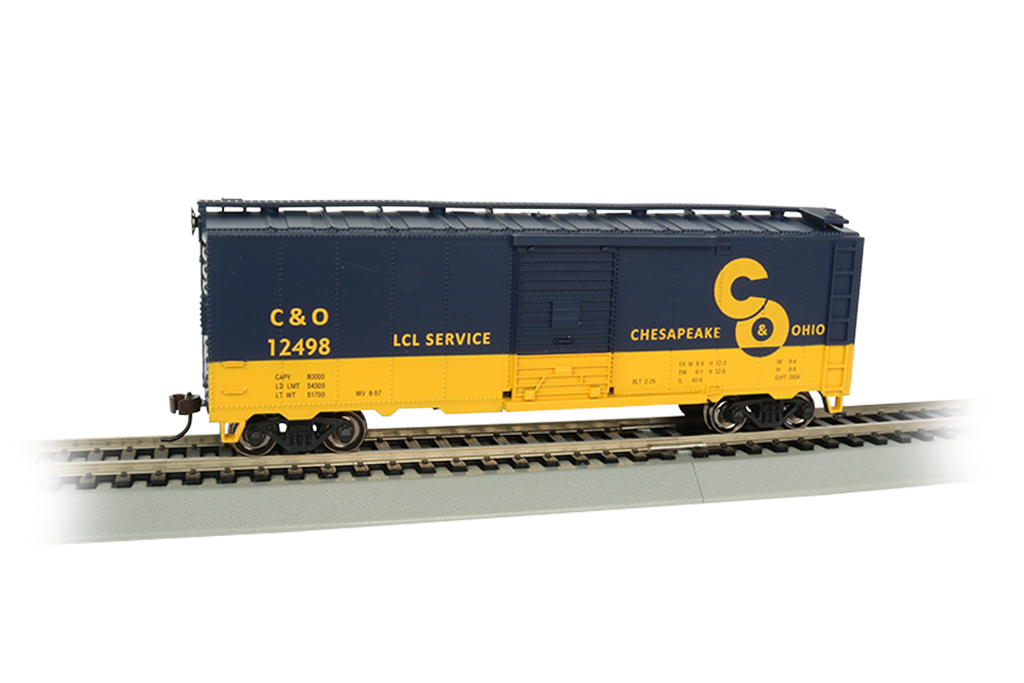 Chesapeake & Ohio® - 40' Box Car (HO Scale)