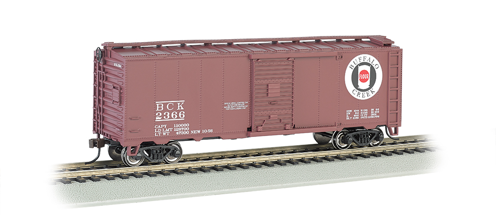 Buffalo Creek - 40' Box Car (HO Scale)