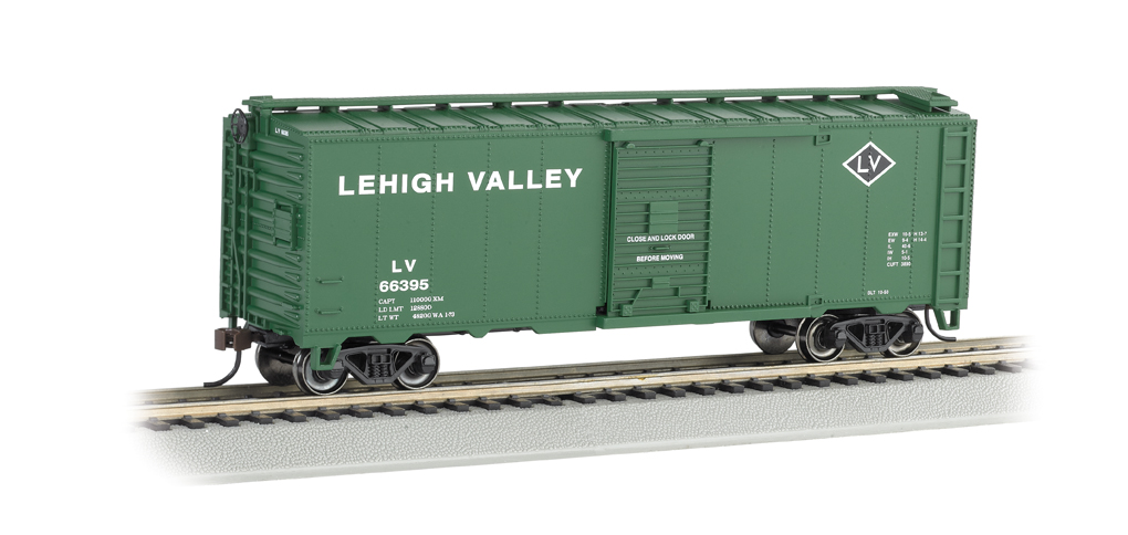 Lehigh Valley - 40' Box Car (HO Scale)