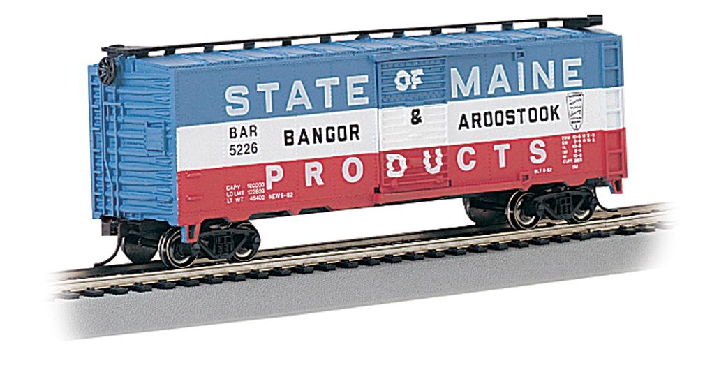 Bangor Aroostook 40 Box Car Ho Scale 17038 29 00