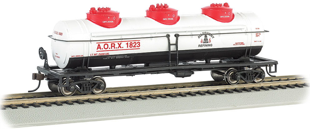 Allegheny Refining - 40' Three Dome Tank Car (HO Scale)