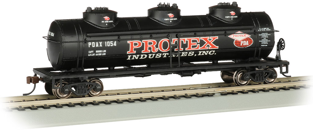 Protex Industries - 40' Three Dome Tank Car (HO)