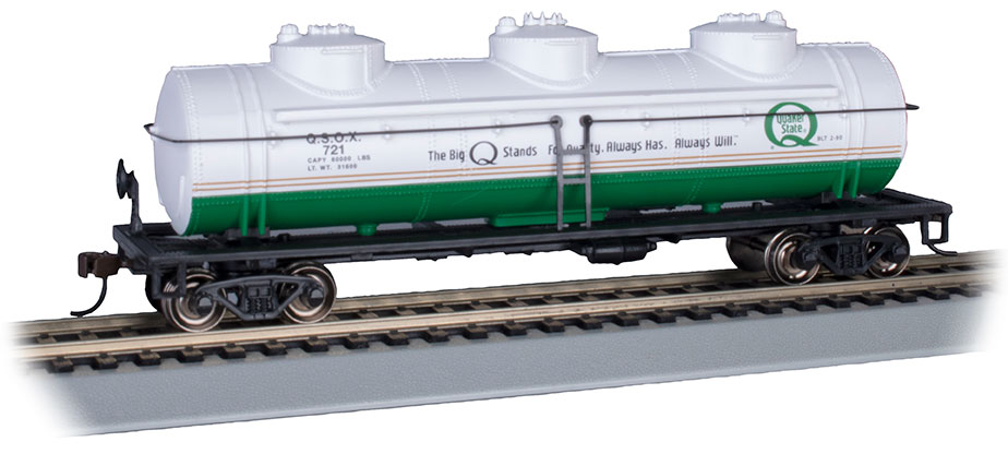Quaker State #721 - 40' Three-Dome Tank Car (HO Scale)