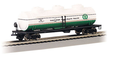 Tank Car - 3 Dome - Quaker State - #QSOX 749