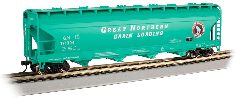 Great Northern #171304 (Glacier Green) - 56' ACF Hopper