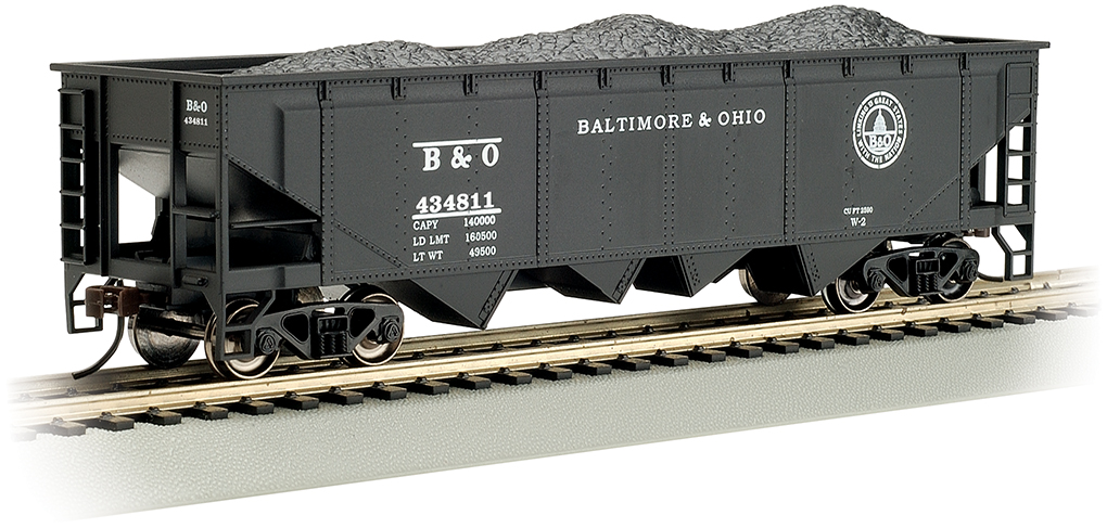 Baltimore & Ohio® #434811 - 40' Quad Hopper