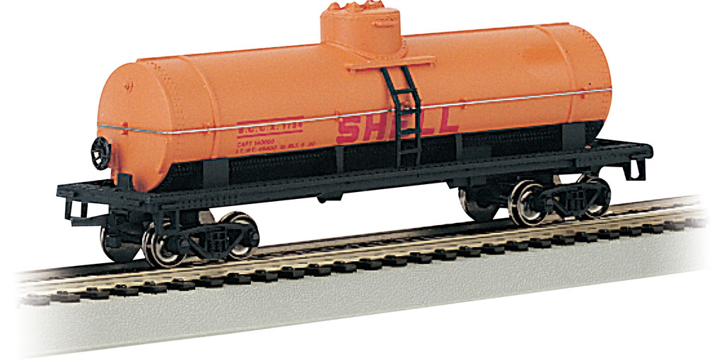 Shell #1758 - 40' Single-Dome Tank Car (HO Scale)