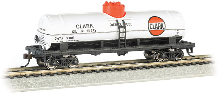 Clark #9485 - 40' Single-Dome Tank Car (HO Scale)