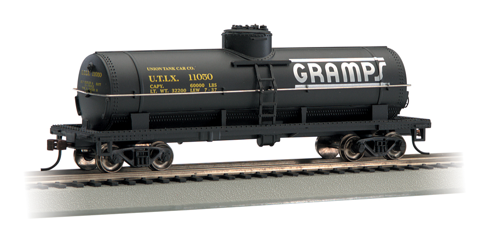 Gramps - 40' Single-Dome Tank Car (HO Scale)