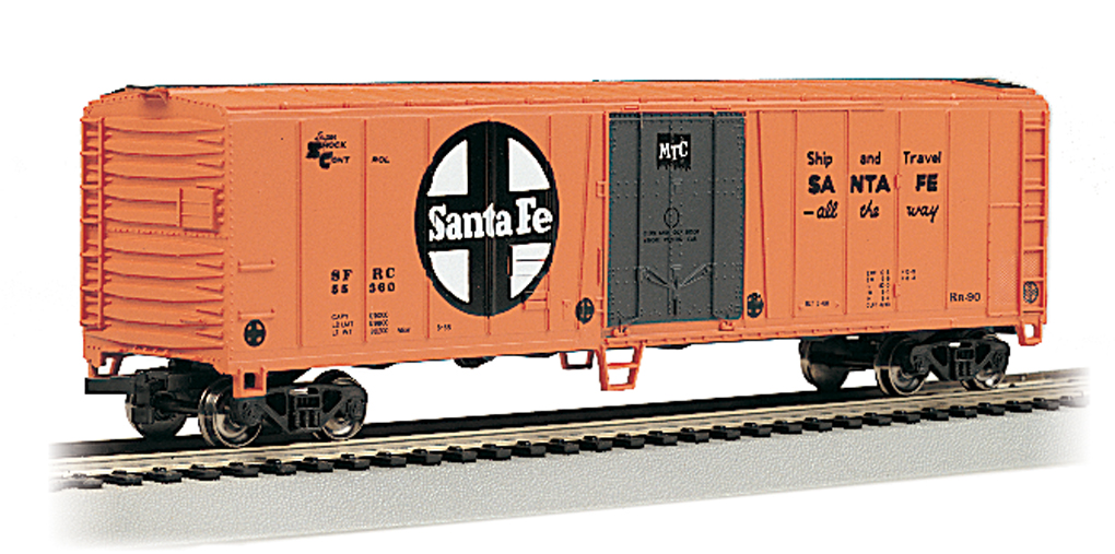 Santa Fe - 50' Steel Reefer (HO Scale)