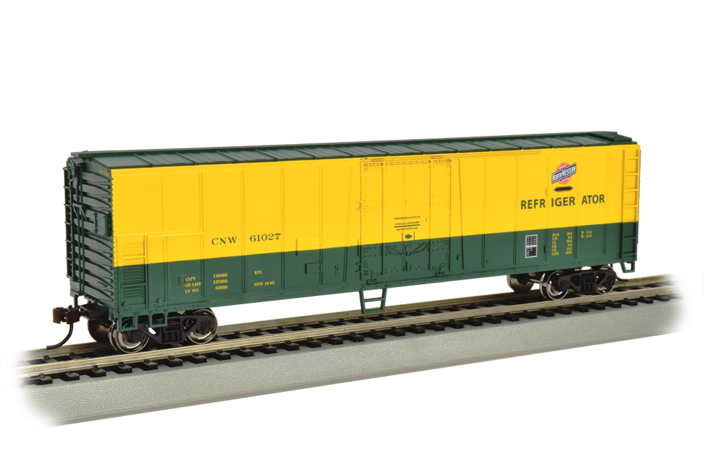 Chicago & Northwestern - 50' Steel Reefer (HO Scale) - Click Image to Close