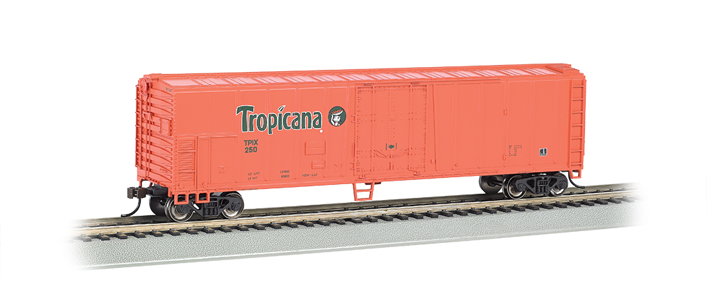 Tropicana Orange- 50' Steel Reefer (HO Scale)