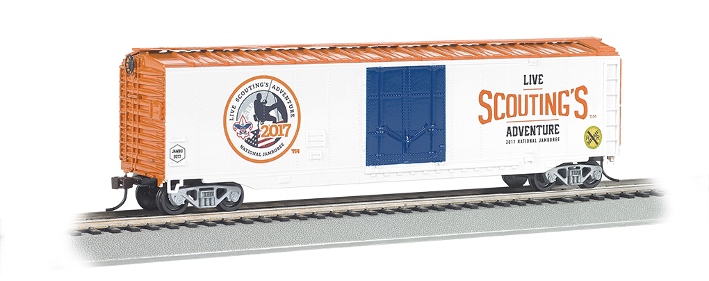 Boy Scouts of America® - Jamboree - 50' Plug Door Box Car (HO)