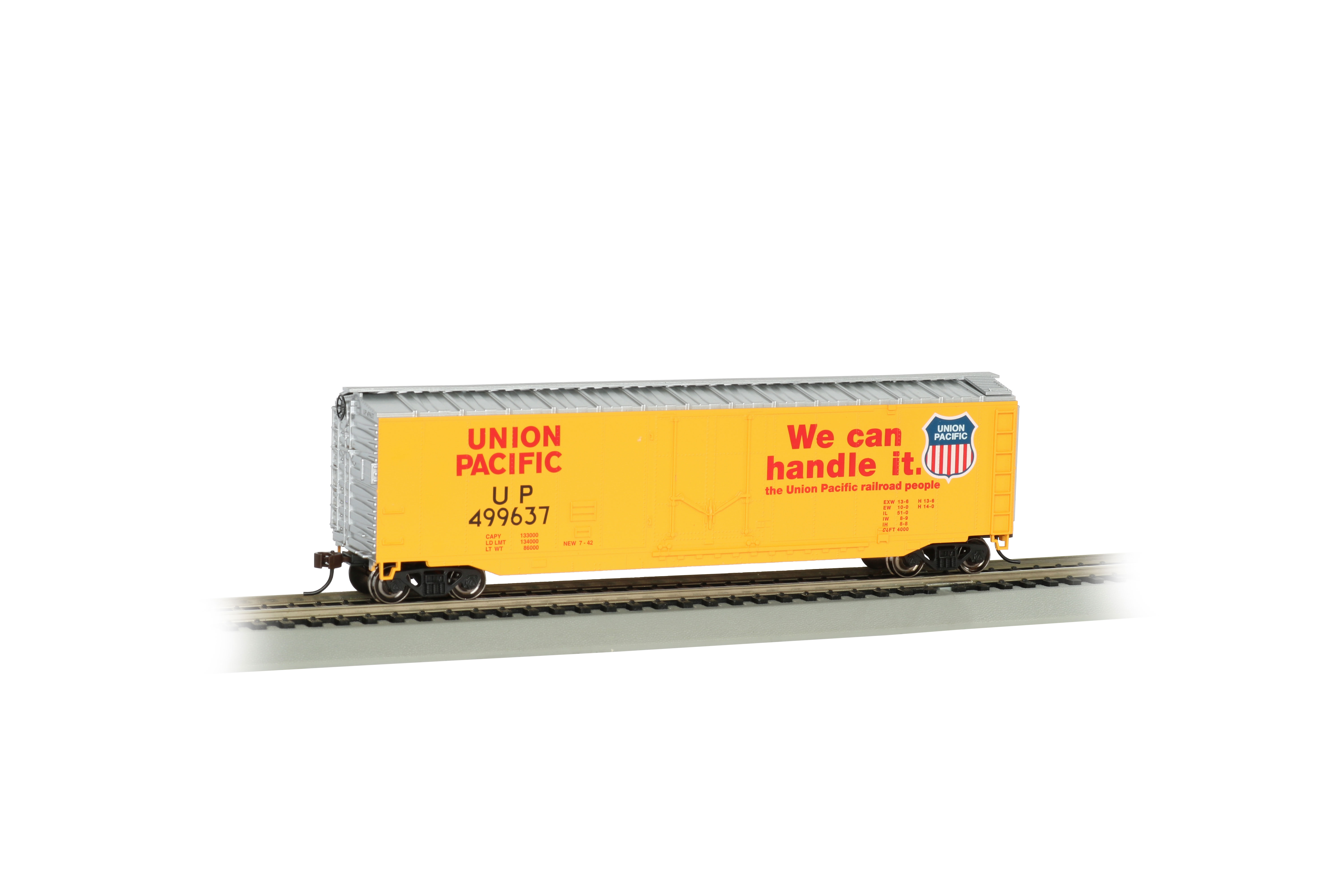 Union Pacific® #499637 - 50' Plug Door Box Car (HO)