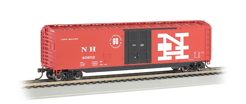 New Haven - 50' Plug Door Box Car (HO Scale)