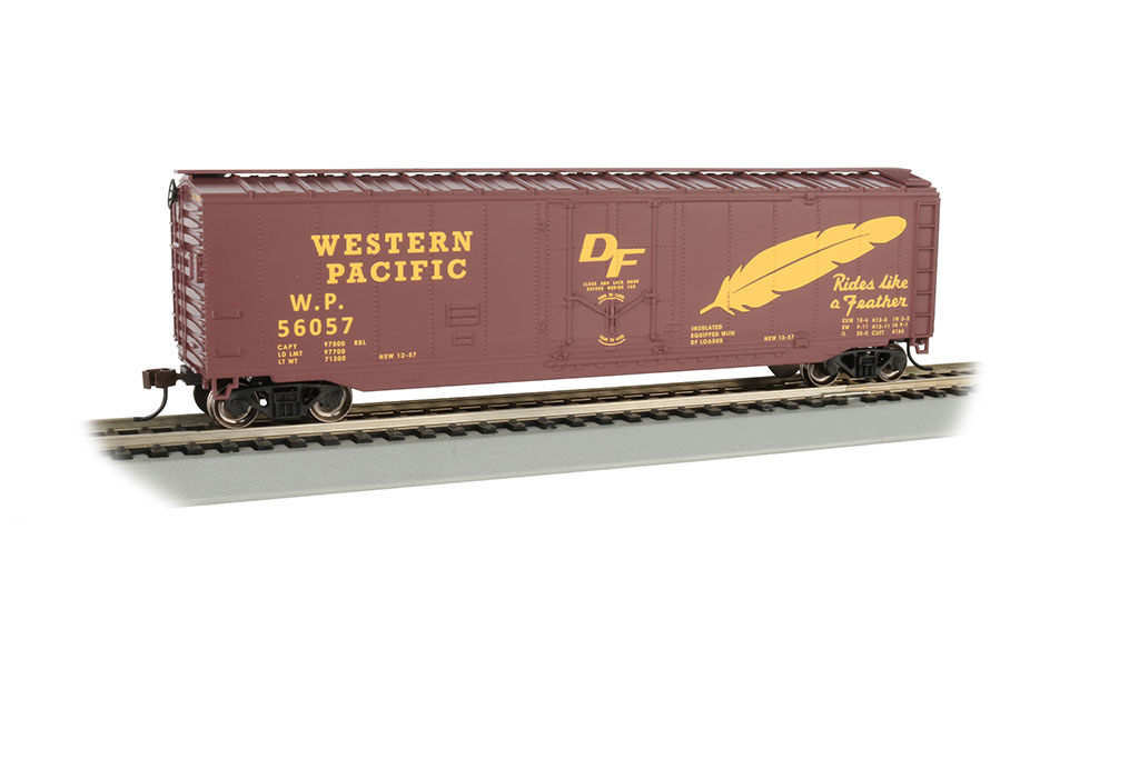Western Pacific™ (Feather Car) - 50' Plug Door Box Car (HO)