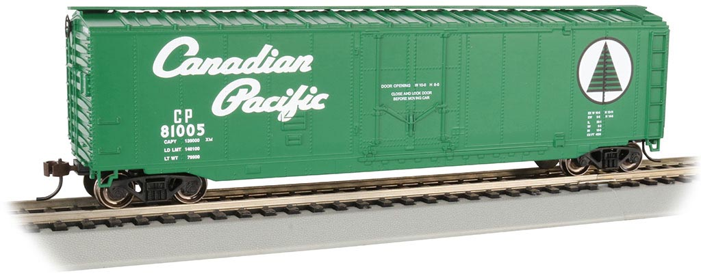 Canadian Pacific - 50' Plug Door Box Car (HO Scale)