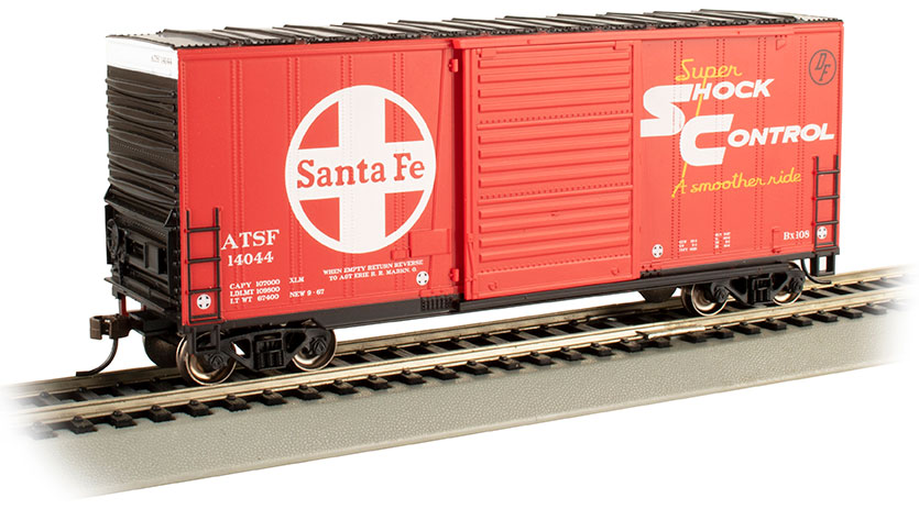 ATSF (Santa Fe) - Hi-Cube Box Car