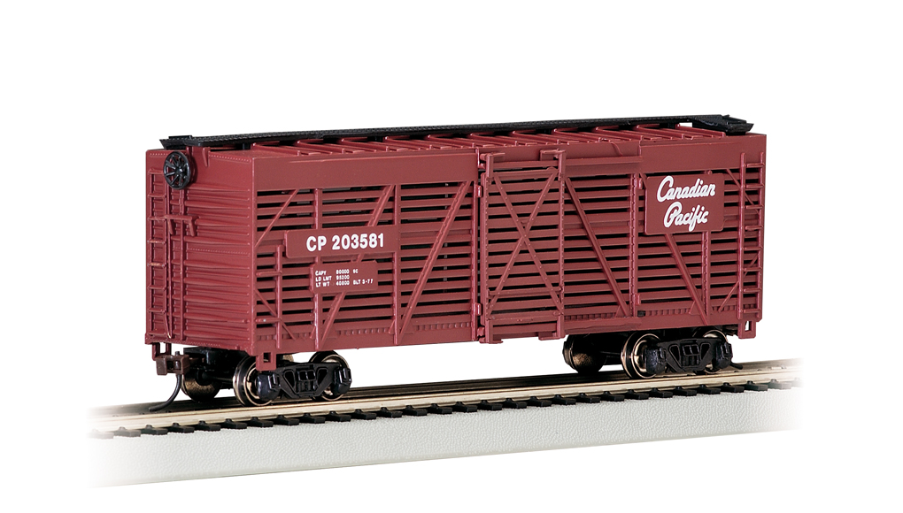 Canadian Pacific - 40' Stock Car (HO Scale)