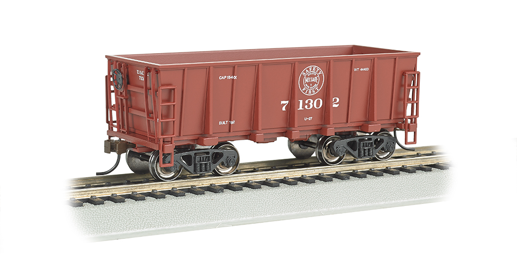 Duluth, Missabe & Iron Range #71302, Mineral Red - Ore Car (HO)