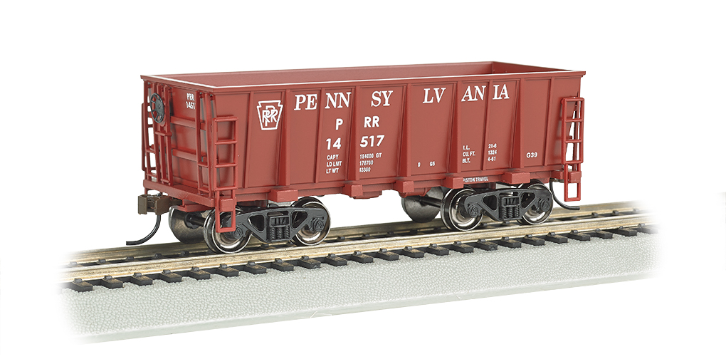 Pennsylvania (Tuscan) #14517 - Ore Car (HO Scale)