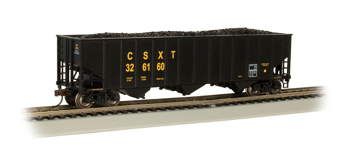 CSX® #326160 - Beth Steel 100 Ton 3 Bay Hopper
