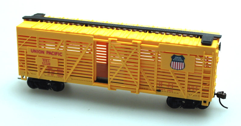 Stock Car - Union Pacific (HO Scale)