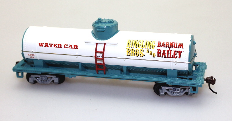 Tank Car - Ringling Bros (HO Scale)