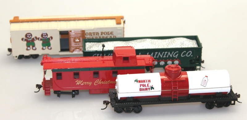 Christmas Car Set (HO scale)