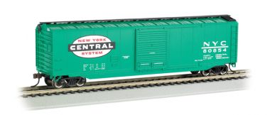 New York Central® (jade green) - 50' Sliding Door Box Car (HO)