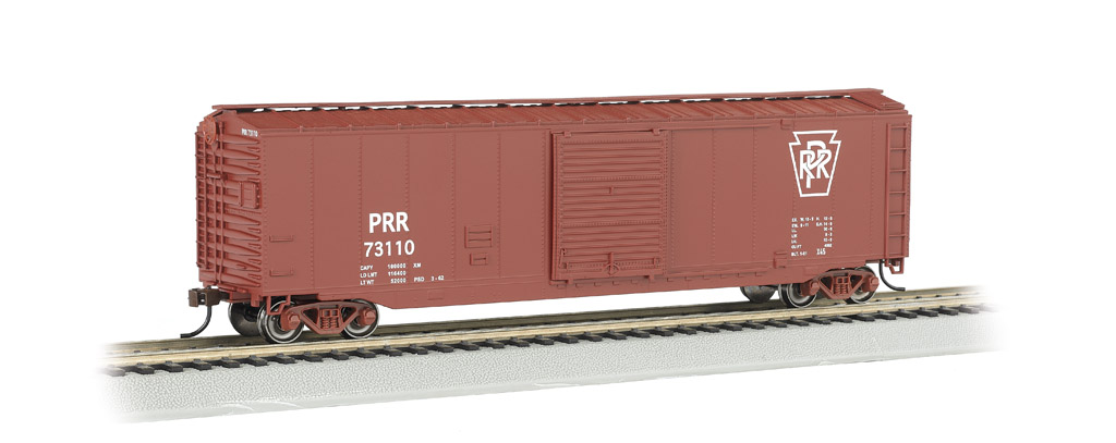 PRR - 50' Sliding Door Box Car (HO Scale)